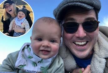 WATCH: Peter Stefanovic shares adorable video of Oscar giggling. When do babies start laughing?