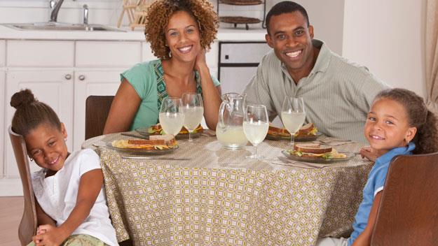 Family meals cut childhood obesity risk