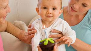 Simple ideas for baby's first birthday