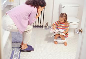 Top 10 children's books for toilet training