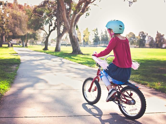 Teach your kids to ride a bike