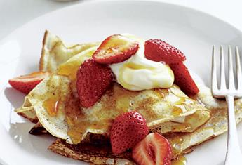 Eight easy recipes for breakfast in bed
