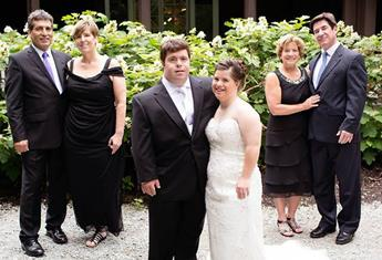 To my daughter with Down syndrome on her wedding day