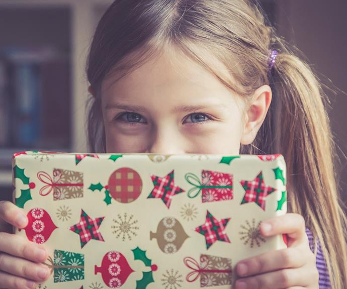 Child on Christmas Day