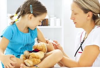 Nature noises help kids face needles