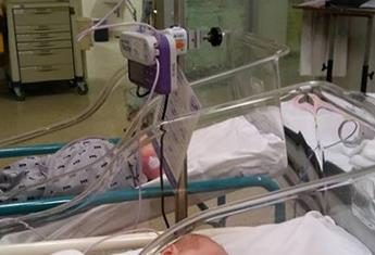 Premature twins hospitalised after contracting a virus from their mum's friend