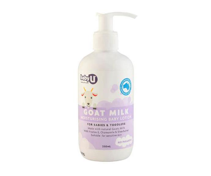 Baby U Goat Milk Moisturiser