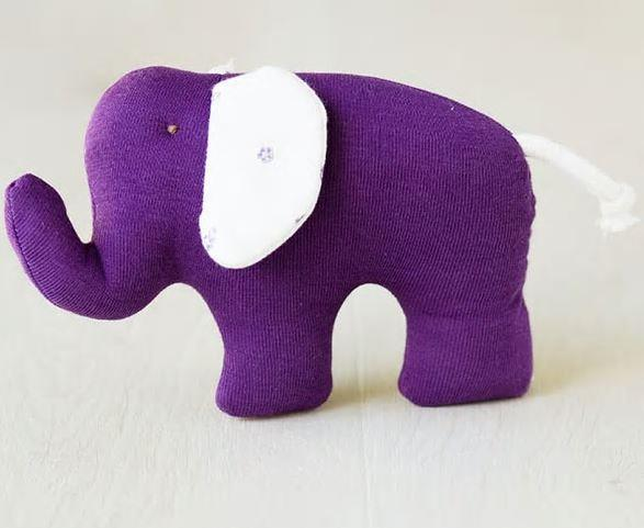 Baby Soft Toy & Lovey – Elephant