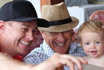 Here's how your favourite famous dads celebrated Father's Day