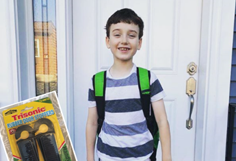 The heartbreaking reason this seven-year-old needs a door stopper