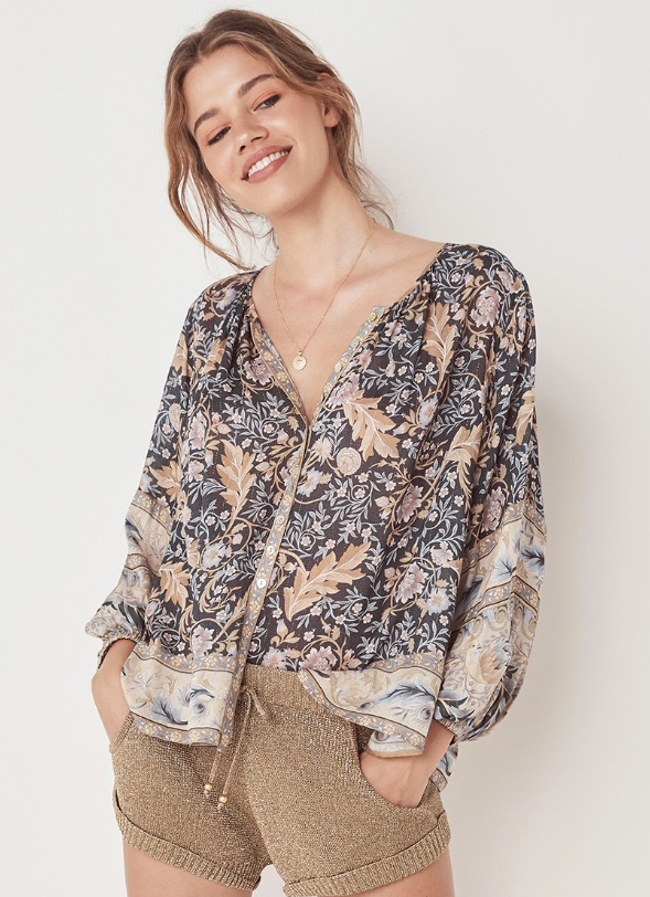Bohemian style blouses re comfortable and on trend