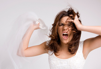 A bridezilla has vented her fury at her bridesmaid's pregnancy