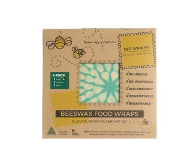 Bee Wrappy Beeswax Food Wraps