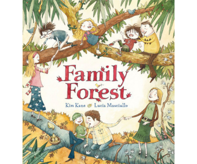 Family forest, Kim Kane and Lucy Masciullo