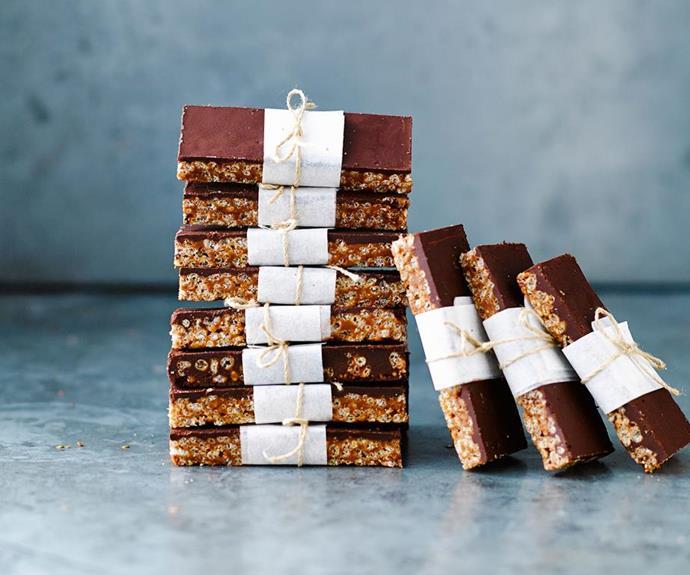 No-bake mars bar slice