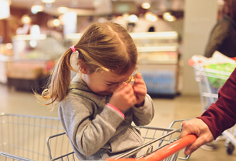 How to avoid a toddler tantrums at the supermarket