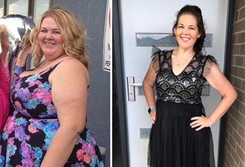 Half the size! Melbourne mum shares the simple secret behind her 80kg weight loss