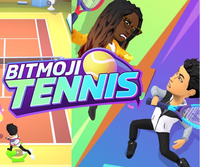 Bitmoji Tennis
