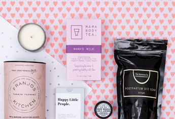5 of the best modern hamper gifts to spoil new mums