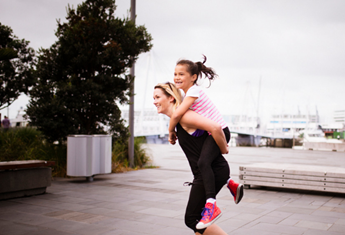 Exercising with the kids could be the key to you family's fitness