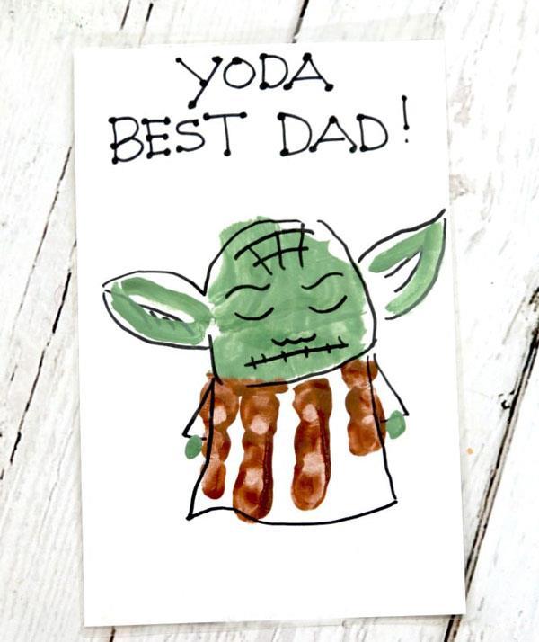 Yoda best dad!