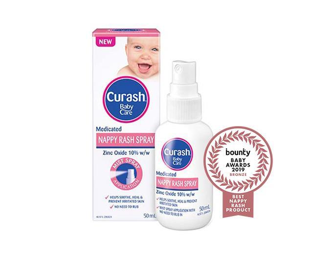 Curash Babycare Medicated Nappy Rash Spray