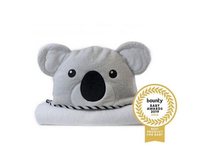 Bubba Blue Aussie & Zoo Animals Novelty Hooded Towels