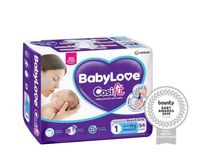 BabyLove CosiFit Newborn Nappies