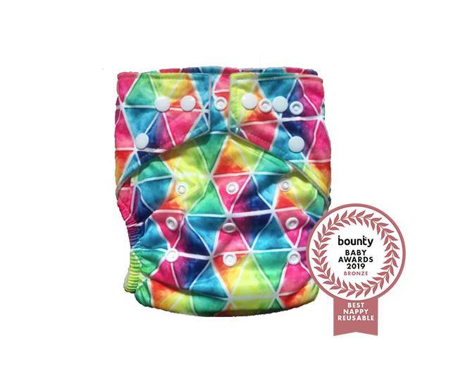 Hippybottomus Stay Dry Bamboo Nappy