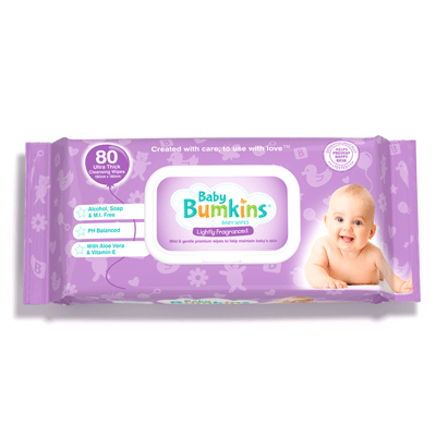Baby Bumkins Lightly Fragranced Baby Wipes
