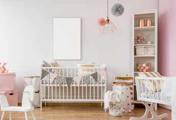 Alexie O'Brien shares her expert tips for styling a beautiful baby nursery