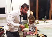 Chris Hemsworth daughter India Rose