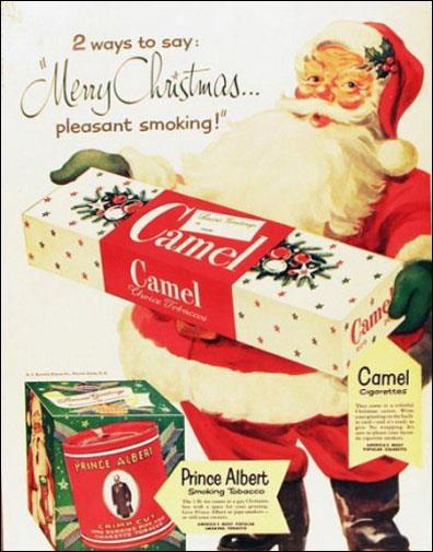 Cigarettes - something high on every 1940s child's Christmas list.