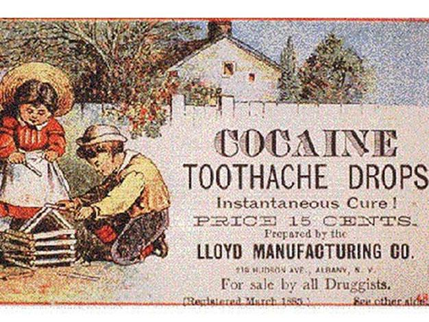 Teething child? There was only one logical answer in 1914: cocaine.