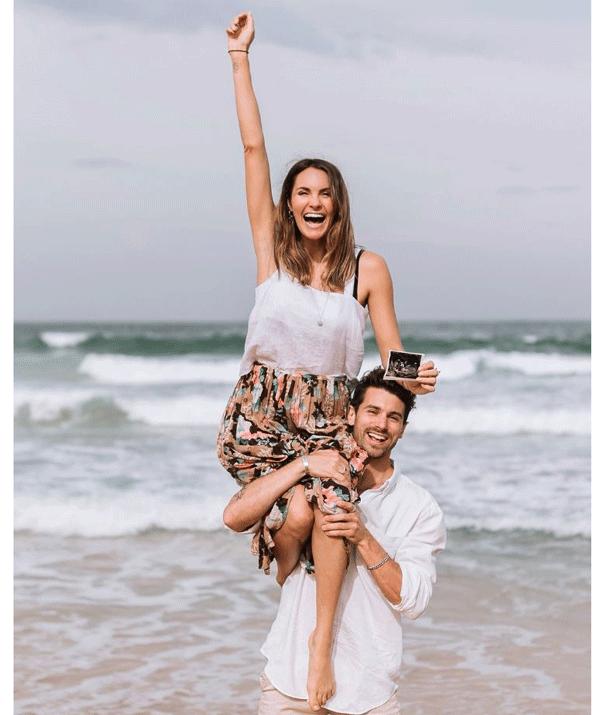 Laura Byrne, Matty J, pregnancy announcement