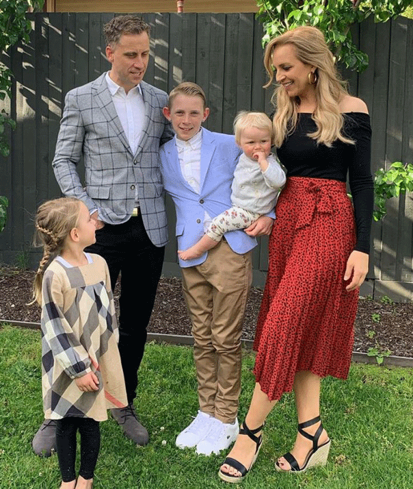 Carrie Bickmore family