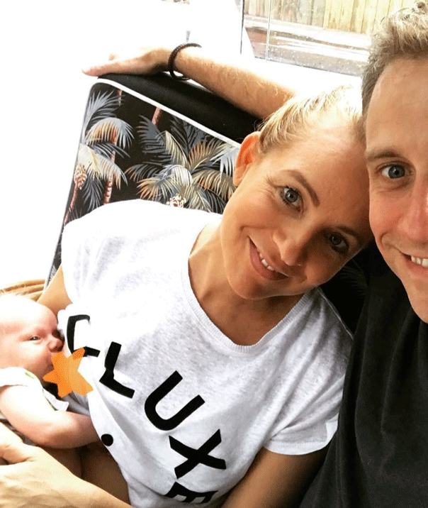 Carrie Bickmore one month motherhood