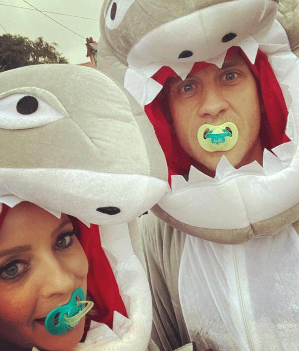 Carrie husband baby shark
