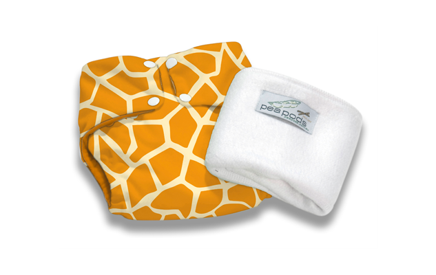 Pea Pods ONE Size Nappies