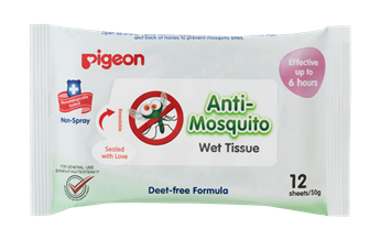 Pigeon Anti-Mosquito Wet Tissue Wipes