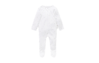 Purebaby Essentials Zip Growsuit