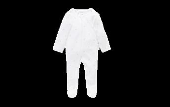 Purebaby Essentials Zip Growsuit