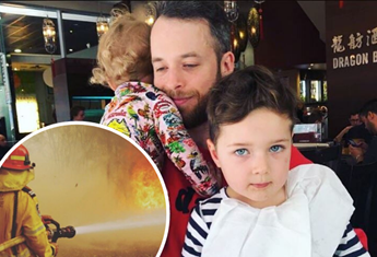 How Hamish Blake is talking to his son about the bushfires