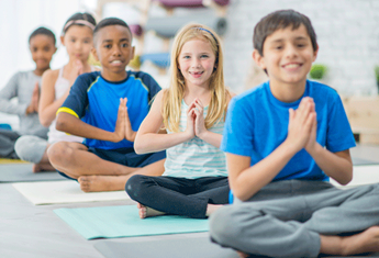 Children are now being taught mindfulness, meditation and yoga at school
