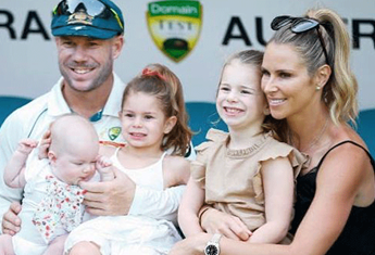 Father-of-three David Warner says he doesn't want any more children