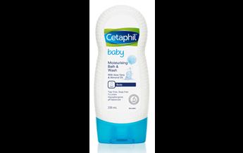 Cetaphil Baby Moisturising Bath & Wash