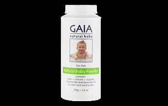 GAIA Natural Baby Natural Baby Powder