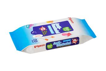 Pigeon Anti-Bacterial Wet Tissue Wipes
