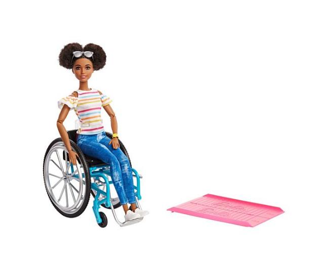 Barbie Doll in wheelchair