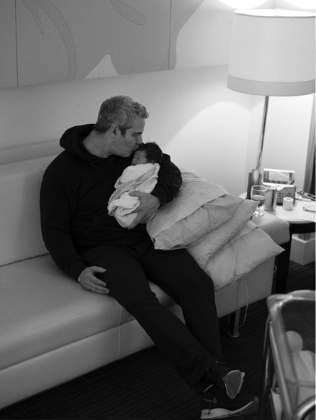Andy Cohe and newborn Ben